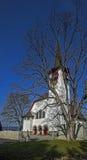 Una piccola chiesa del villaggio Fotografie Stock Libere da Diritti