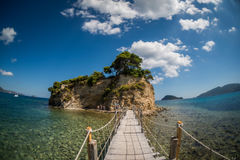 Una piccola isola Fotografia Stock Libera da Diritti