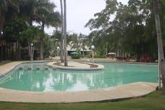Una piccola località di soggiorno messa al sicuro nella città di Teledo nella provincia di Cebu Filippine fotografia stock