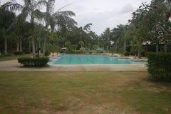 Una piccola localit? di soggiorno messa al sicuro nella citt? di Teledo nella provincia di Cebu Filippine fotografia stock libera da diritti