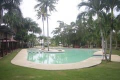 Una piccola localit? di soggiorno messa al sicuro nella citt? di Teledo nella provincia di Cebu Filippine immagini stock