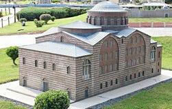 Una piccola moschea a Costantinopoli Immagini Stock