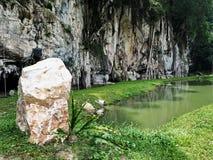 Una pietra Immagini Stock