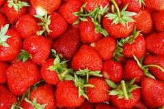 Una pila de fresas Fotos de archivo