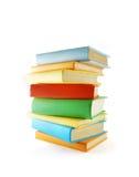 Una pila de libros Foto de archivo libre de regalías