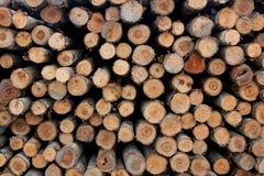 Una pila de madera para la construcción Fotos de archivo
