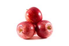 Una pila de manzanas frescas de la gala Imágenes de archivo libres de regalías
