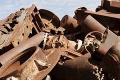 Rondas en el metal Imagen de archivo