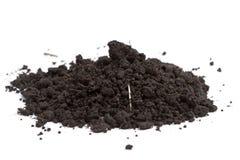 Una pila de suelo Imagen de archivo