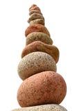 Una pila grande de piedras de la playa Imagen de archivo libre de regalías