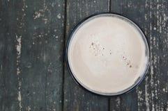 Espuma de la cerveza Imagen de archivo libre de regalías