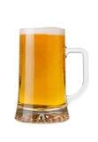 Una pinta di birra fotografia stock