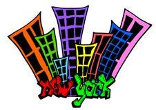 Una pintada Nueva York Fotos de archivo