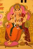 Una pintura de dios hindú Ganesha foto de archivo