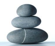 Una piramide di tre stones-2 Fotografia Stock