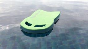 Una piscina muy tranquila almacen de metraje de vídeo