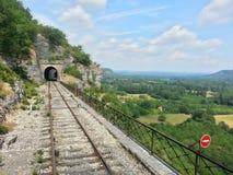 Una pista del tren Fotos de archivo