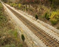 Una pista del tren Imágenes de archivo libres de regalías