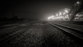 Una pista del tren Foto de archivo