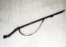 Una pistola antica Fotografie Stock