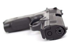 una pistola da 9 millimetri Fotografia Stock