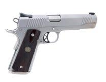 una pistola di 45 calibri Fotografia Stock Libera da Diritti