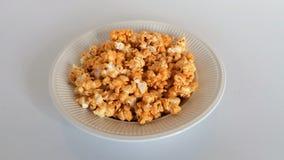 Una placa de la palomitas de maíz dulce Fotografía de archivo libre de regalías