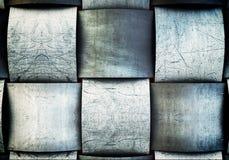 Una placa sólida del fondo del hierro Imagen de archivo libre de regalías