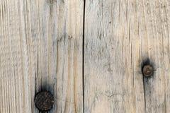 Una plancia di legno con due mutandoni scuri immagine stock libera da diritti