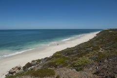 Una playa del hombre Foto de archivo