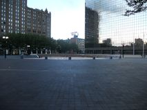 una plaza NJ di 80 parchi fotografia stock