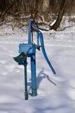 Una pompa di Deep Well Hand del panettiere fotografie stock