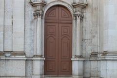 Una porta Immagini Stock Libere da Diritti