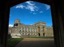 Una porta al castello di windsor Fotografia Stock Libera da Diritti