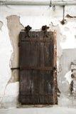 Una porta della prigione Fotografie Stock