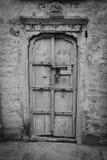 Una porta in Jaisalmer, Ragiastan, India Fotografie Stock Libere da Diritti