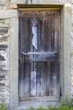 Una porta sgangherata Immagini Stock Libere da Diritti