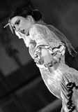 Una prestazione di ballo di flamenco di Alba Lucera immagini stock libere da diritti