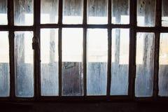 Una prigione comunista che commemora le atrocità e le pratiche comuniste di tortura e che applica confessione fotografia stock libera da diritti