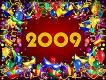 una priorità bassa dei 2009 partiti Fotografia Stock