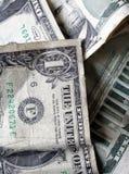 Una priorità bassa dei soldi Fotografie Stock Libere da Diritti