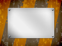 Una priorità bassa, scheda del metallo, struttura Immagini Stock