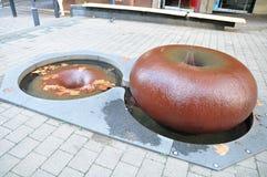 Una progettazione delle idee della fontana Immagini Stock