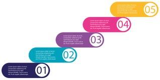 Una progettazione infographic colourful royalty illustrazione gratis