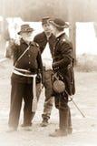 Una progettazione nordica di tre soldati Fotografia Stock Libera da Diritti