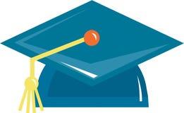 Una protezione di graduazione Immagine Stock