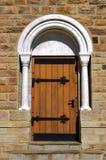 Una puerta del Christuskirche en Windhoek Fotografía de archivo