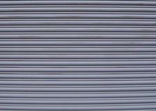 Una puerta del garaje del metal Imagen de archivo