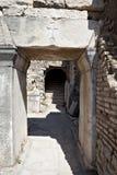 Una puerta en la ciudad de Ephesus Imagen de archivo libre de regalías