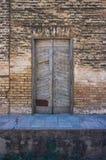 Una puerta vieja Fotos de archivo